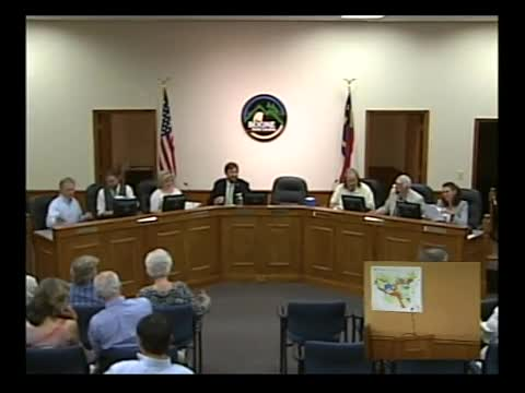 Town Council Meeting 6-18-2015