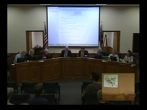 Town Council Meeting 8-18-2016